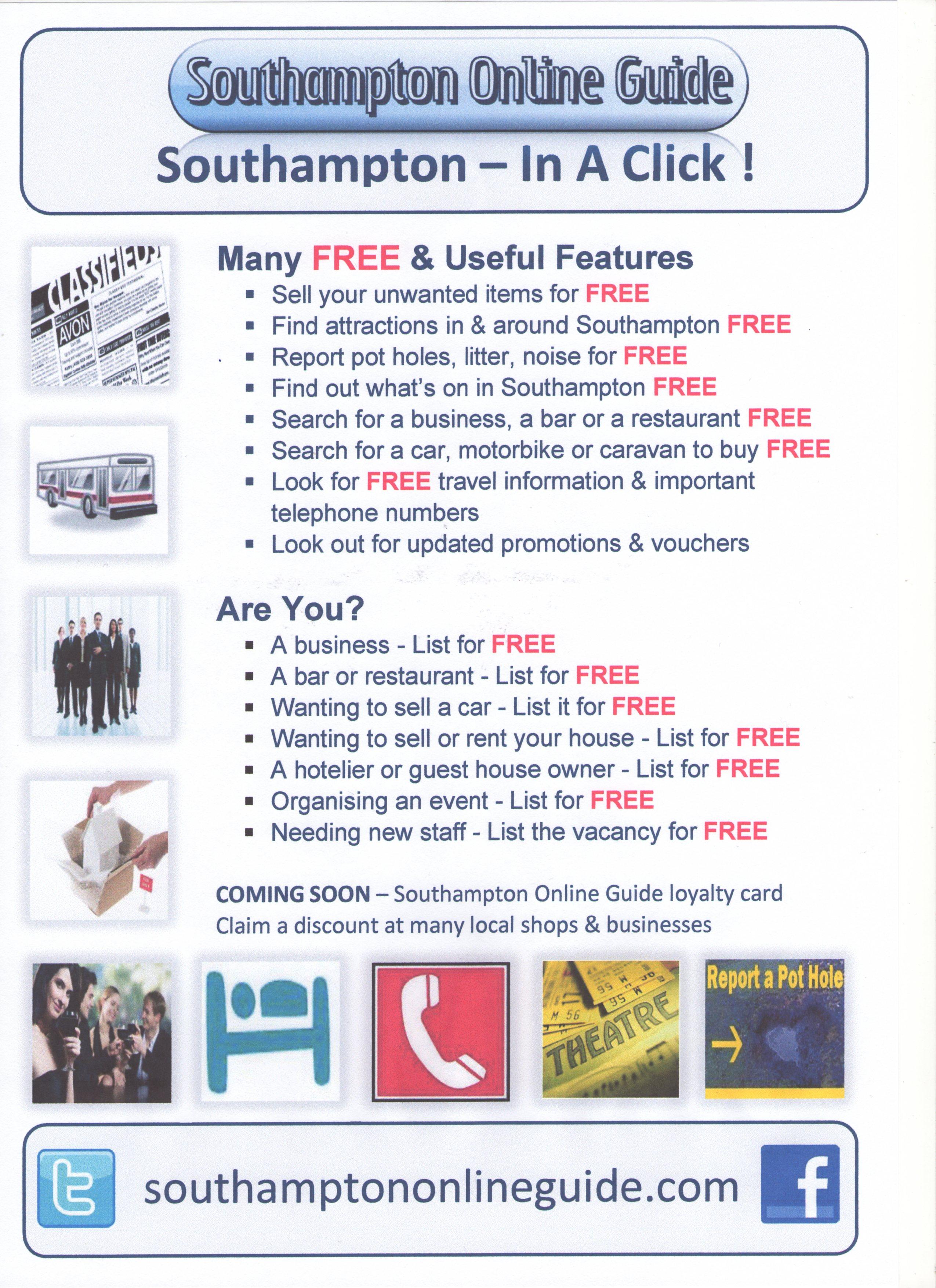 Southampton Online Guide